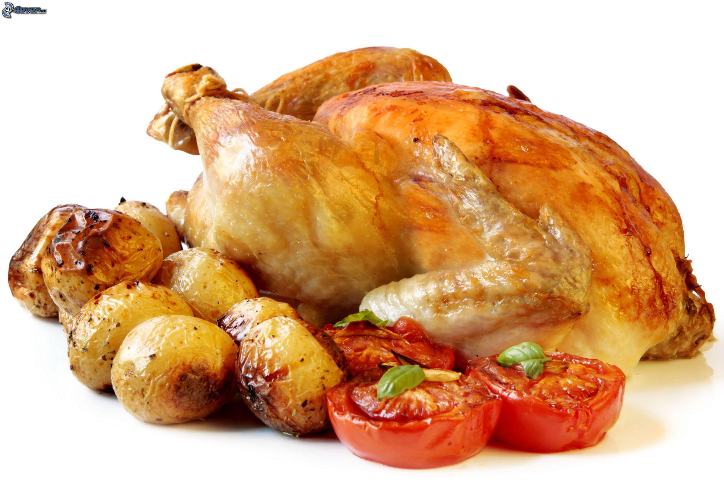 Poulet r ti - Dessin de poulet roti ...