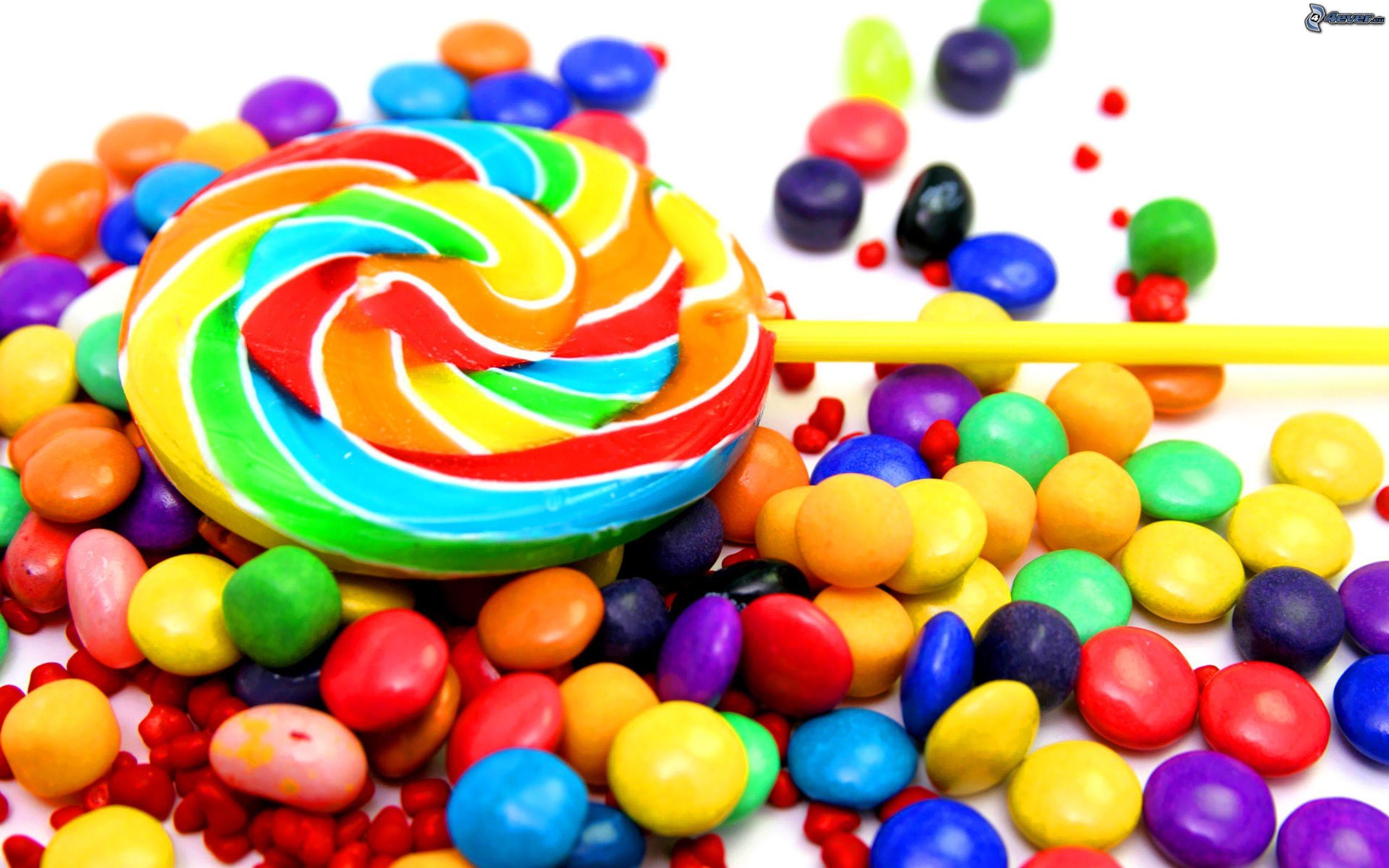 sucette colore smarties - Sucette Colore