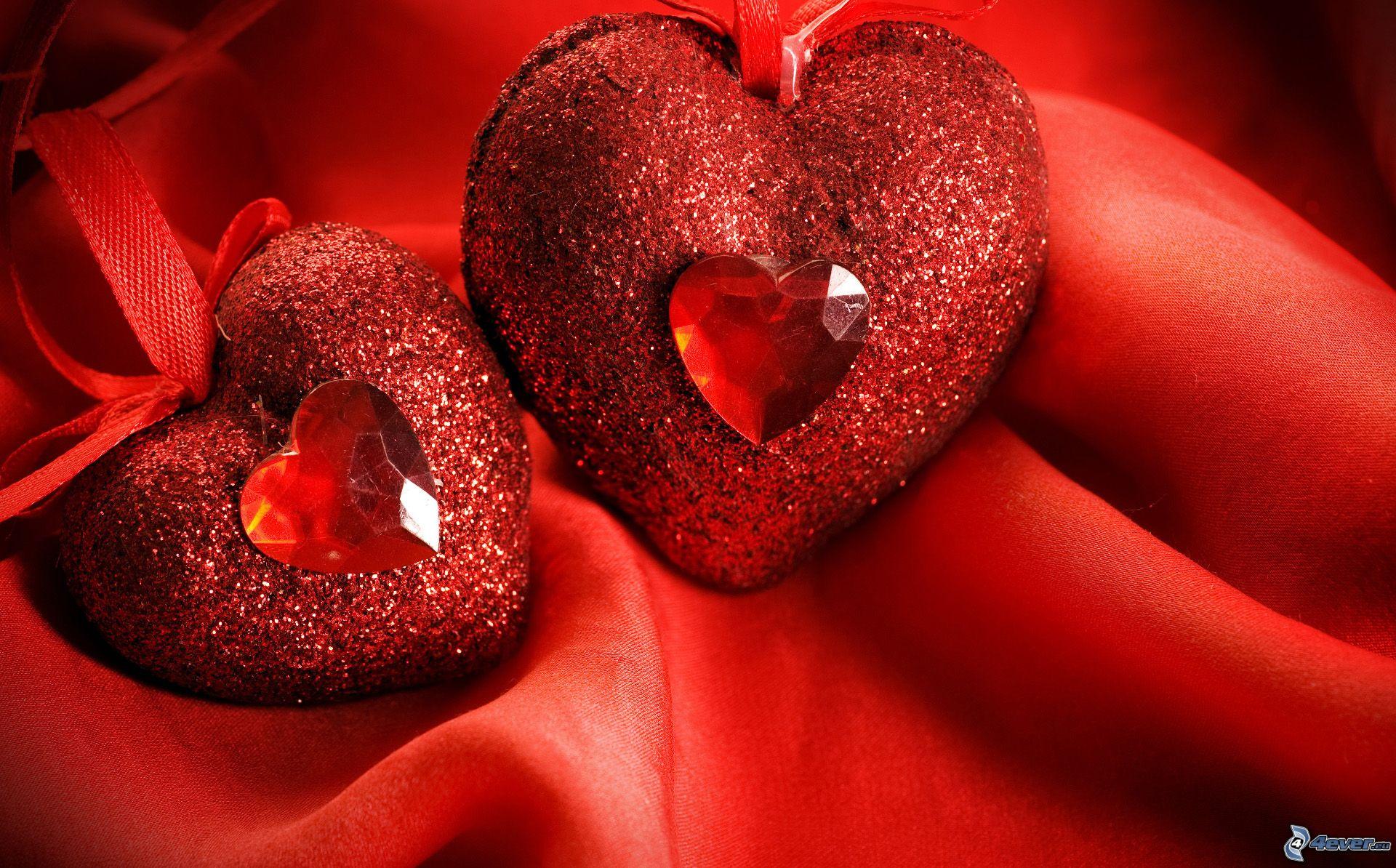 coeurs-rouges,-soie,-le-fond-rouge-216157