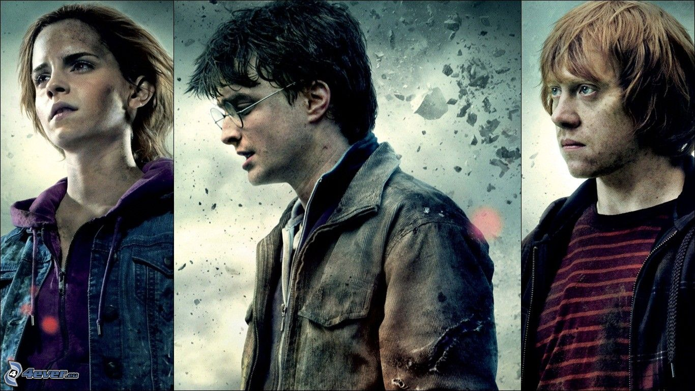 Acteurs du film harry potter - Hermione granger et ron weasley ...