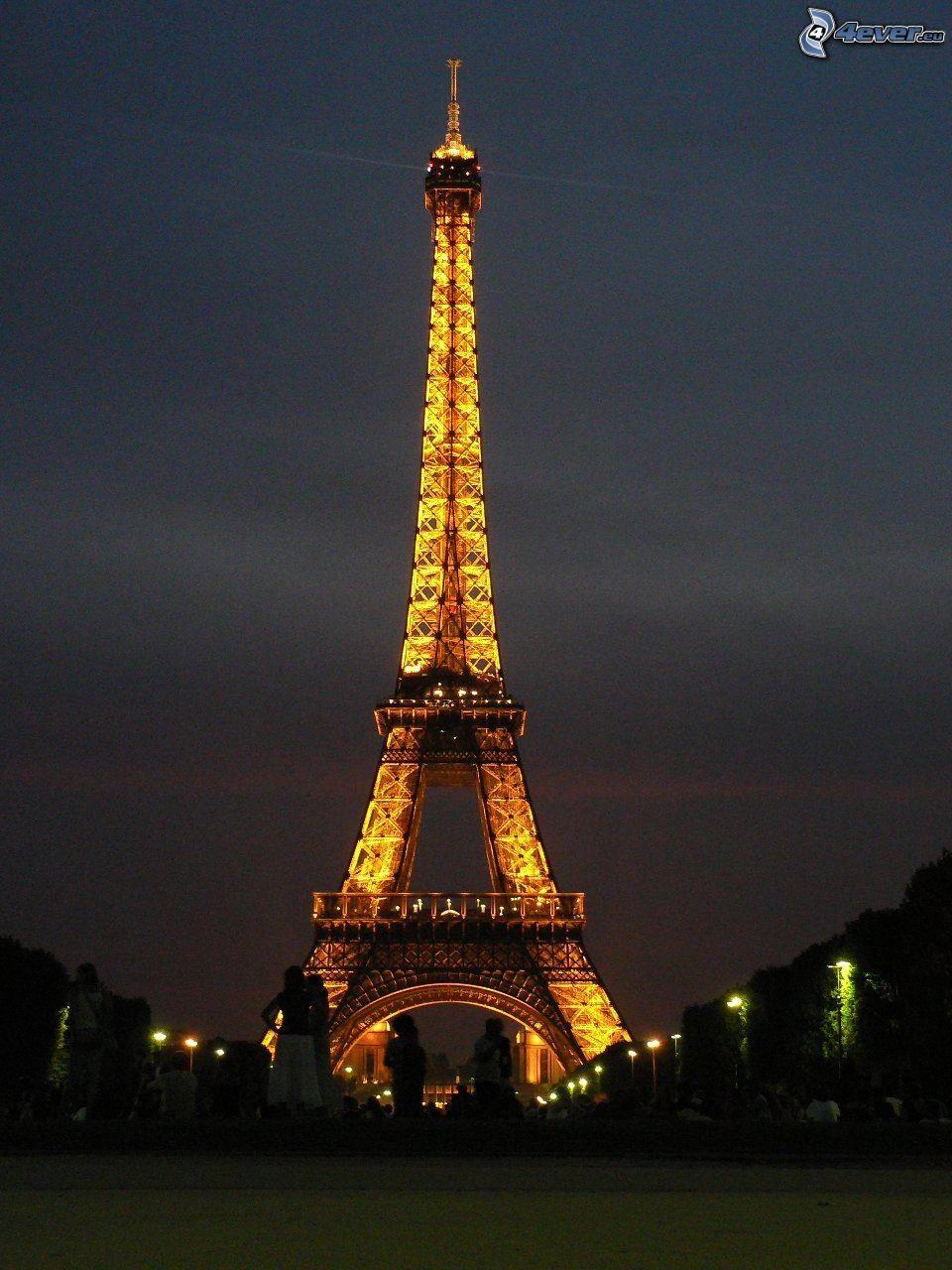Tour eiffel de nuit - Les dimensions de la tour eiffel ...