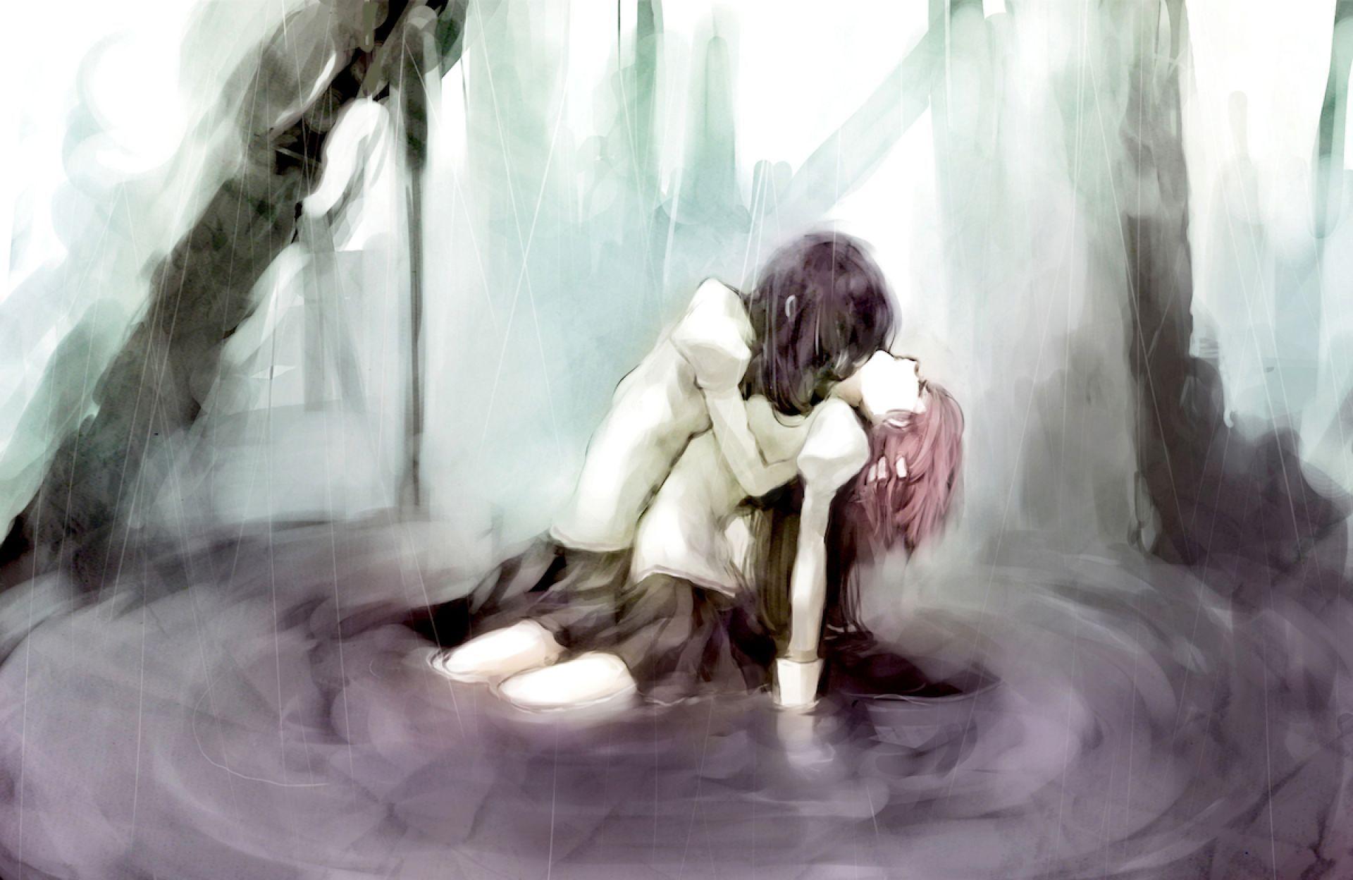 Dessin Manga Couple Triste Dessin De Manga