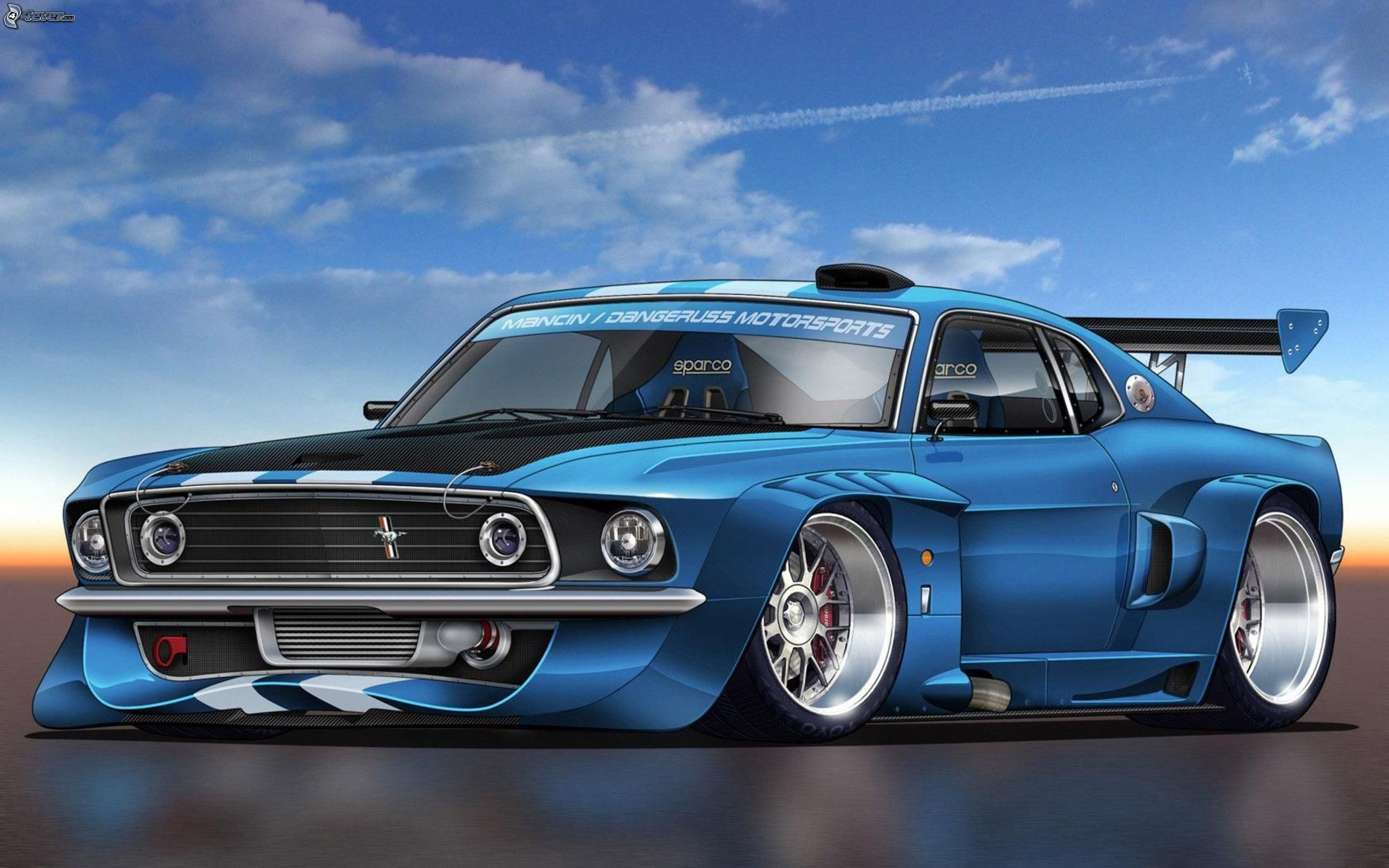 Ford mustang - Voiture de tuning ...