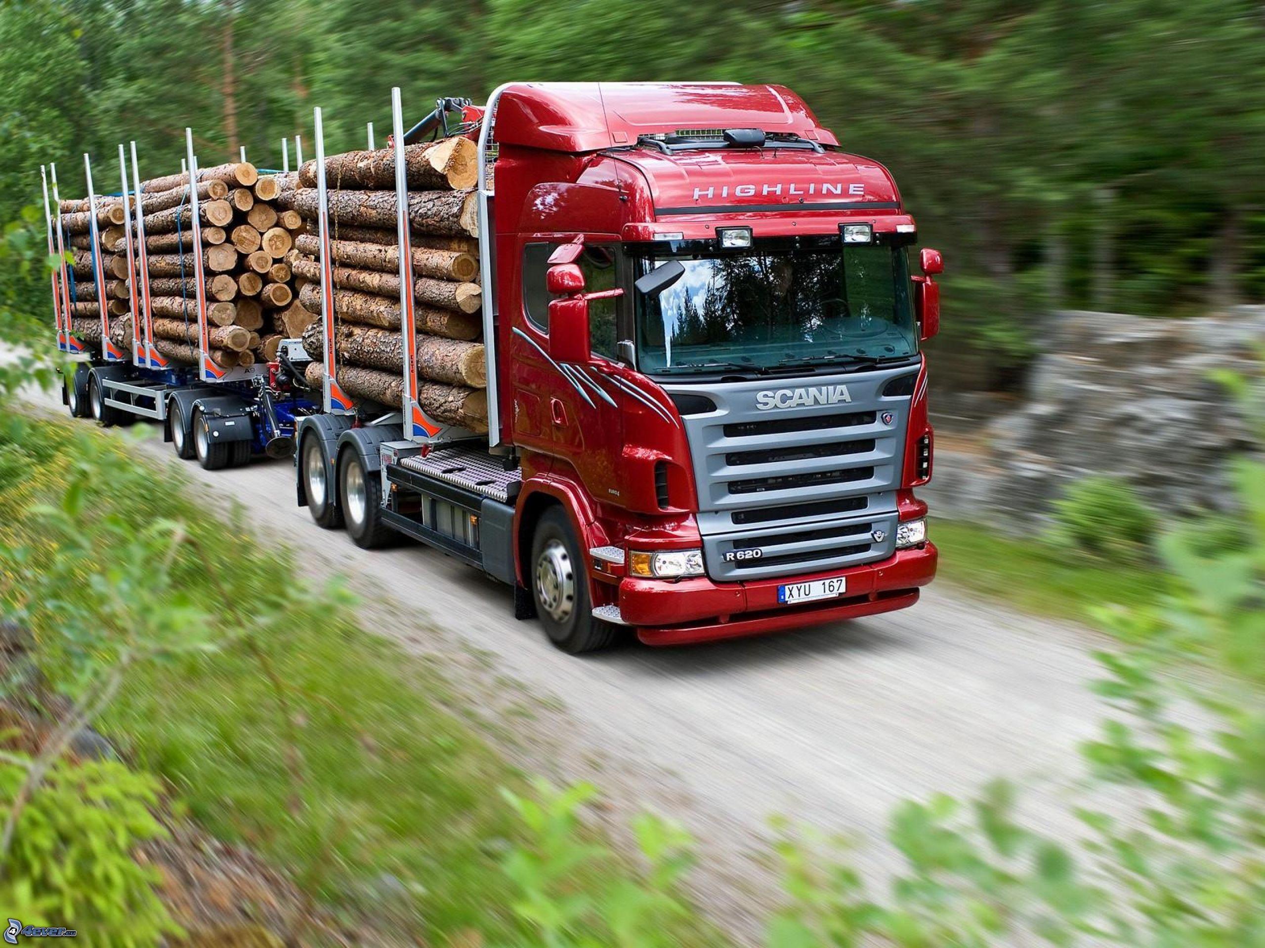 Camion Transport De Bois Scania R Series Avec Grue Troncs Bruder 03524  ~ Camion Transport De Bois