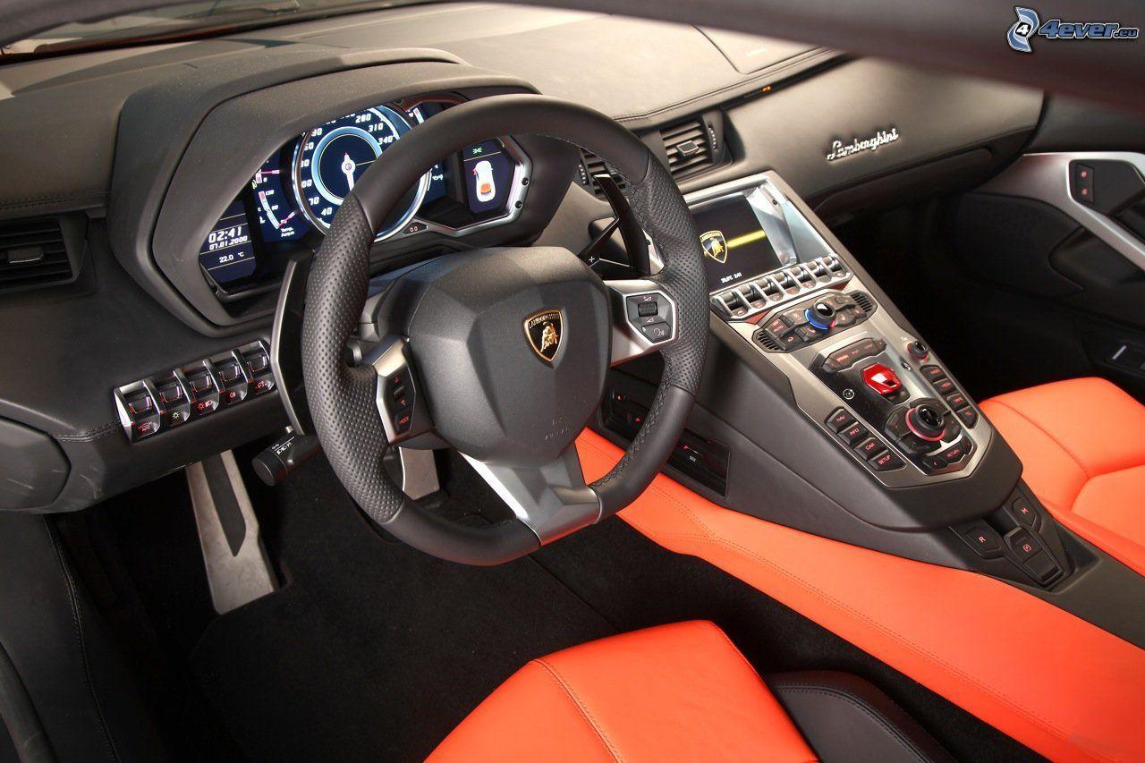 Int Rieur Lamborghini Aventador
