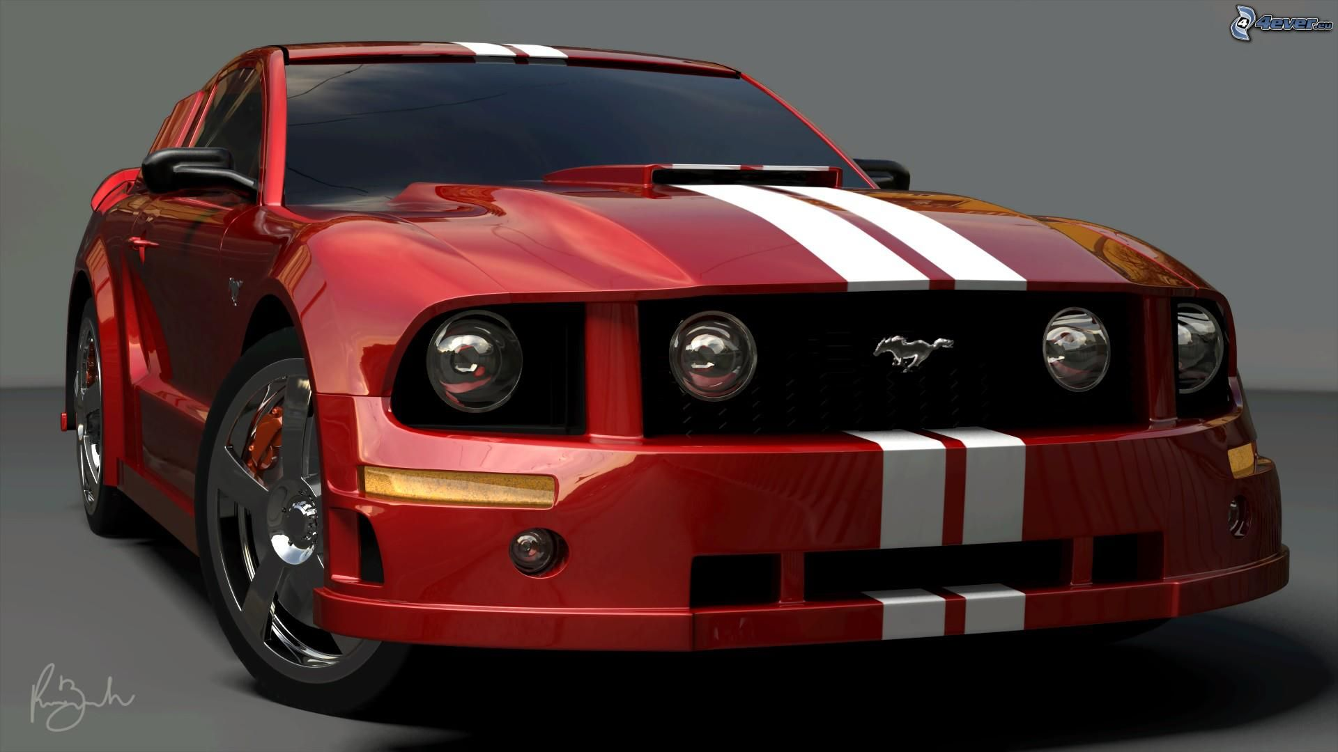 Favori Ford Mustang ZR73